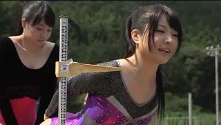 新体操部員のハミパンレオタードに発情した俺_キャプチャ画像_09