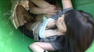 狭い場所の圧迫感と息もできない連続絶頂が女を狂わせる!2…_キャプチャ画像_02