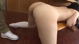 【潮吹き身体検査】万引常習JKの穴という穴を徹底的に調べ、脅してヤル!!_キャプチャ画像