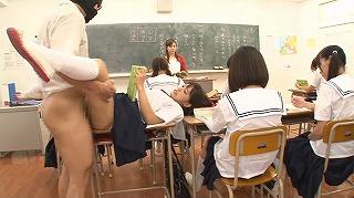 セックスが溶け込んでいる日常 学園生活で「常に性交」女子高生(夏服・文化祭編)_キャプチャ画像_03