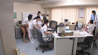 セックスが溶け込んでいる日常 病院生活で「常に性交」ナース_キャプチャ画像_01