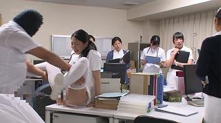 セックスが溶け込んでいる日常 病院生活で「常に性交」ナース_キャプチャ画像_08