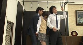 『痴漢撃退法の体験モニター』だと思ってやってきた高学歴お嬢様JKたちにガチ痴漢。アヘってハメ潮する娘も・・・_キャプチャ画像