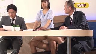 山井アナON AIR中にトビシオ!ハメ潮!!(山井すず)_キャプチャ画像_12